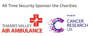 ATS Security sponsor Thames Valley Air Ambulance & Cancer Research UK