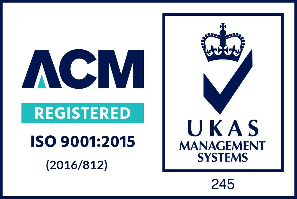 ACM Registered ISO 9001