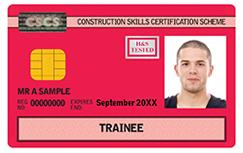Red: Working Towards A Qualification Card