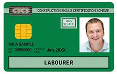 Green: Labourer Card