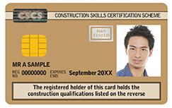 Gold: Advanced Craft/Supervisors Card