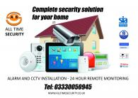 Alarm and CCTV installation and remote monitoring